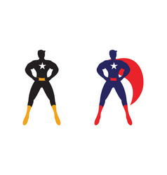 male superhero vector image