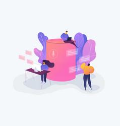 smart speaker office controller creative vector image