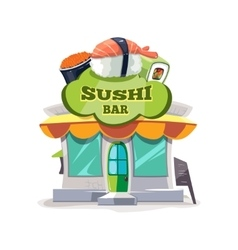 Sushi bar or chinese vector