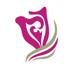 tulip symbol vector image