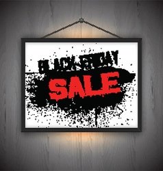 black friday sale notice background 0710 vector image vector image