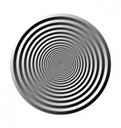 3d circle vector image