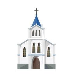 Catholic church icon isolated on white background vector image vector image
