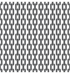 Seamless pattern background with chains vector image