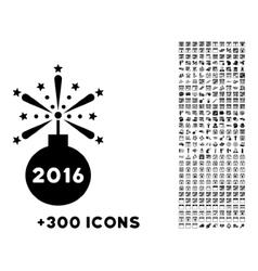2016 Fireworks Detonator Icon vector
