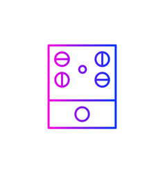 Audio controller icon vector