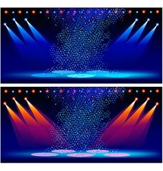 Concert scene vector