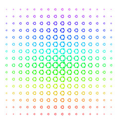 cooperation shape halftone spectral pattern vector image