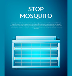 electric mosquito trap vector image