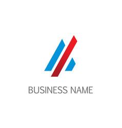 line future business company logo vector image