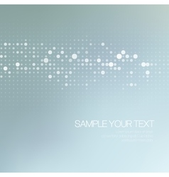 Modernistic abstract dot tech background vector