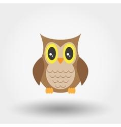 Owl stuffed toy vector