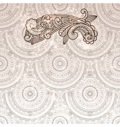 Paisley element vector