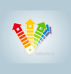 Symbol of a paint for the house vector