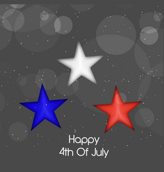 Usa independence day 4th of july vector