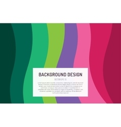 Abstract line triangle background design vector image