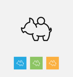 Of business symbol on cash vector