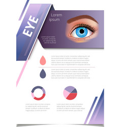 Brochure design page template technology vector