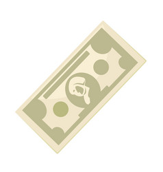 cash paper money vector image