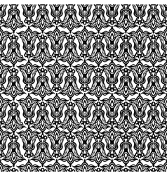 damask seamless pattern element vector image