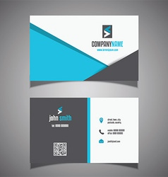 Modern business card design 0906 vector