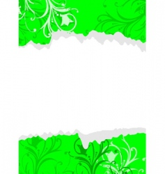 ripped paper vector image vector image