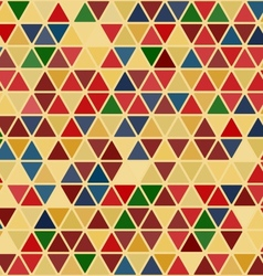 Seamless retro abstract pattern vector