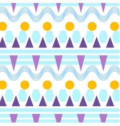 Sunny pattern in flat style digital vector