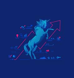 Unicornstartup vector