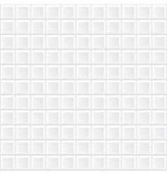 white tile wall vector image