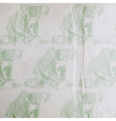 vintage of a koala bear pattern on the old vector image