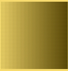 gradient background golden texture vector image vector image