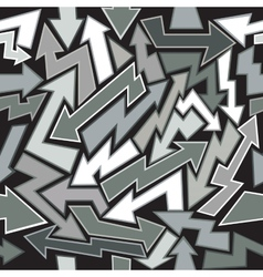 Arrows Seamless Background vector image