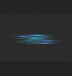 Car fast motion trail effect realistic horizontal vector
