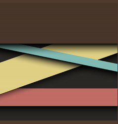 dark color layers abstract background vector image