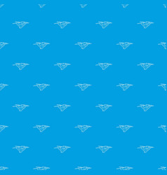 drone with camera pattern seamless blue vector image