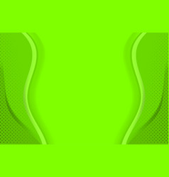 green background template vector image