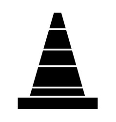 warning construction icon vector image