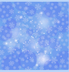 winter christmas natural texture vector image