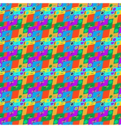 Abstract geometric seamless pattern on a vector image