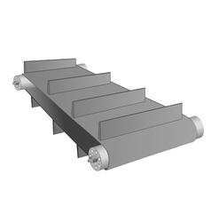 conveyor belt on white vector image vector image