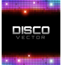 Disco Party Design vector image