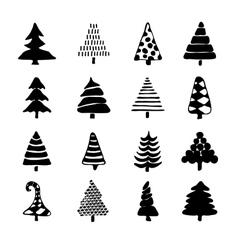 Icons Set of hand drawn cartoon vector image