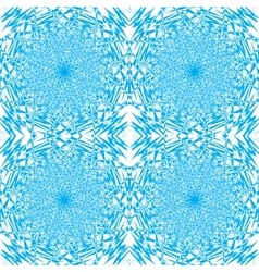 a seamless example of blue and white color vector image vector image