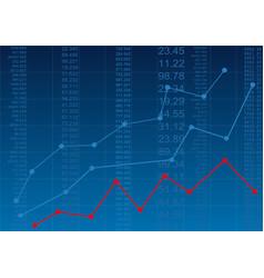 financial report vector image vector image