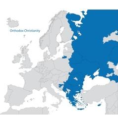 Eastern Orthodoxy in Europe vector