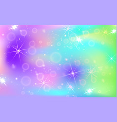 Holographic abstract background mother-of-pearl vector