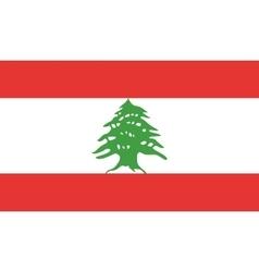Lebanon flag image vector image
