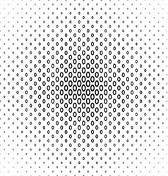 Monochrome ellipse ring pattern background design vector