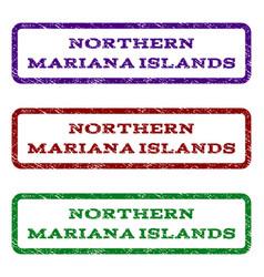 Northern mariana islands watermark stamp vector